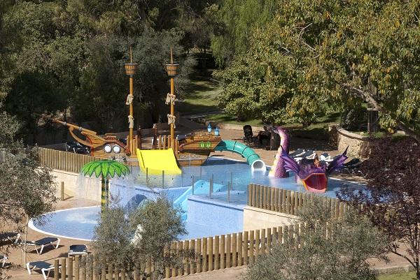 Aquapark pour enfants